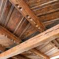 Historische Holzbalkendecke