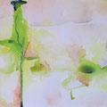 馬バー... uma bar / ink, watercolor, pencil on paper 2009/ H23xW31cm (aprx. 9x12inch)