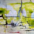 after sad ceremonies/ watercolor, ink, pencil etc on paper 2013 / H23xW 31 cm