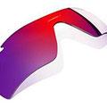 Positive Red Iridium:適度なコントラストのローズベースのミラーレンズは、中程度から明るい光に最適です。Red Iridiumは周辺光を85%除去し、UVA、UVB、UVCの紫外線を100%カットします。