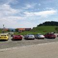 am Kurhaus in Scheidegg