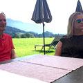 Bernd mit Tochter Petra