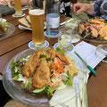 Abendessen in Nitzenweiler