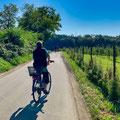 Fahrradtour von Raderach bis Bäckerei Weber am Fluplatz