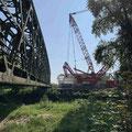 Baustelle Elektrifizierung der Südbahn