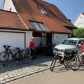 Start zur Fahrradtour