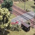 .....am Bahnübergang