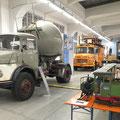 Historische Fahrzeuge im MVG Museum