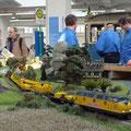 Gleisbauzug unterwegs Richtung Rokytnice