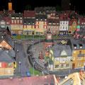 ....unsere kleine Stadt.  (Nachfolgende Bilder sind alle von der Modulanlage des TT Club Bayern )