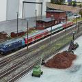 Gleisanlagen von Brunthal