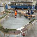 Gesamtansicht unserer Modulanlage im MVG-München von oben