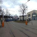 P-Wagen auf der Zubringerlinie 7 zum MVG