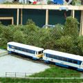 Triebwagen der CD-Baureie 810 in Rokytnice.......