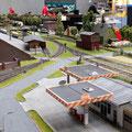 Industriegleise von Dahmstadt