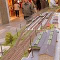 noch mal ein Blick über das Gleisfeld des Hauptbahnhof