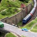 polnischer Schnellzug auf deutschen Gleisen