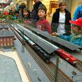 Hochbetrieb im Hauptbahnhof Ingoldorf