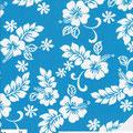 Hawaiiblumen Türkisblau