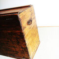 Malle ancienne / coffre rectangulaire