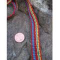 Ripsbändchen aus Pflanzenfärbter Wolle