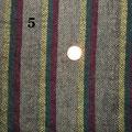 Stoffcoupon für den Kragen der Skjoldehamn Tunika, 2,1 Köper handgewebt 100% Wolle, Pflanzengefärbt