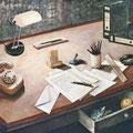 Schreibtisch 100x160cm