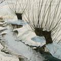 ALBISRIEDEN Bachwiesen (2013), 30 cm x 20 cm  *VERKAUFT/SOLD*