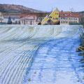 GASWERK SCHLIEREN (2010), 48 cm x 36 cm *VERKAUFT/SOLD*