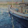 STOCKHOLM Blick von Skeppsholmen nach Östermalm (2015), 42 cm x 30 cm *CHF450*