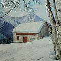 ALP TEAS Engadin (2014), 42 x 31 cm *VERKAUFT/SOLD*