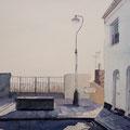 HASTINGS England, Tamarisk Steps (2016), 31 cm x 23 cm