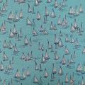 B Segelschiffe hellblau