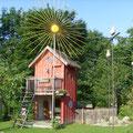 """Spielhaus """"Villa Sonnenschein"""" im Naturgarten"""