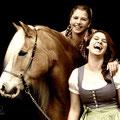 3 Topmodels vom Schleindlgut: Melody, Nina & Kathi
