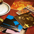 懐かしのジャズ名盤  コーヒー¥650                      いーぐる