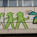 Streetart am Alex