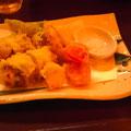 太刀魚のクリームチーズ巻