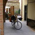 Le vélo est prêt à partir