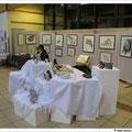 aquarelles de Frank Rollier et sculptures de Marie Josée Moenne Loccoz
