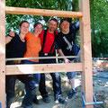 Die vier von der Baustelle ...