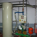 Groupe de maintien de pression assurant le chauffage jusqu'au 13ème étage