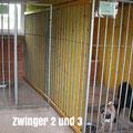 urlaubmithund_separates_gebaeude_mit_hundezwinger_zwinger 2 und 3
