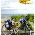 ニュージーランド 最南端 自転車にて一周