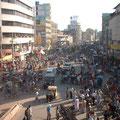 バングラディッシュ 首都ダッカの喧噪