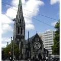 ニュージーランド・クライストチャーチ 大聖堂