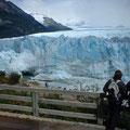 チリ ペリトモレノ氷河