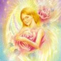 バラの祈りの天使(中)