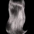 ШИНЬОН light на заколках, чёрный (натуральные славянские волосы)