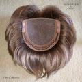Полу-парик на моно, моно-парик, светло-русый, прямые волосы (натуральные славянские волосы)